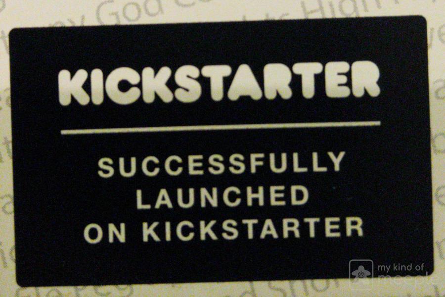 Kickstarter fully funded label