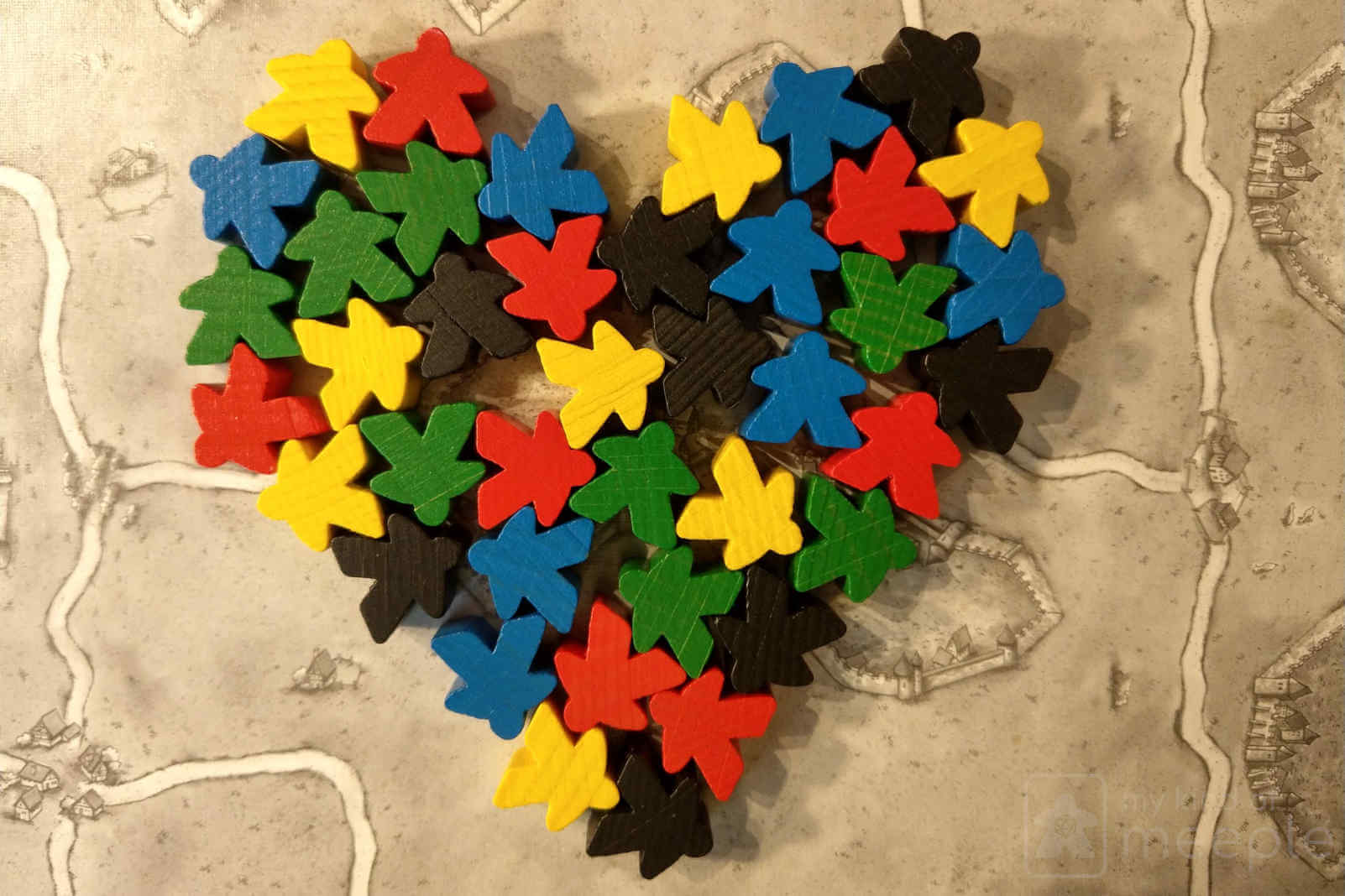 meeple heart