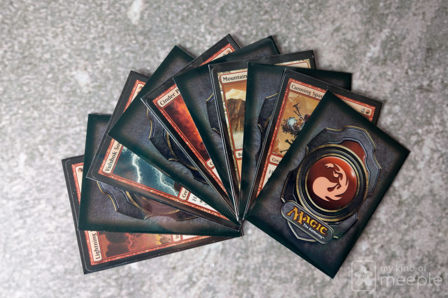 lastic card sleeves for Magic: The Gathering