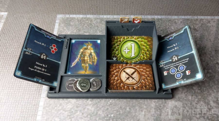 Gloomhaven player dashboard a nice accessory