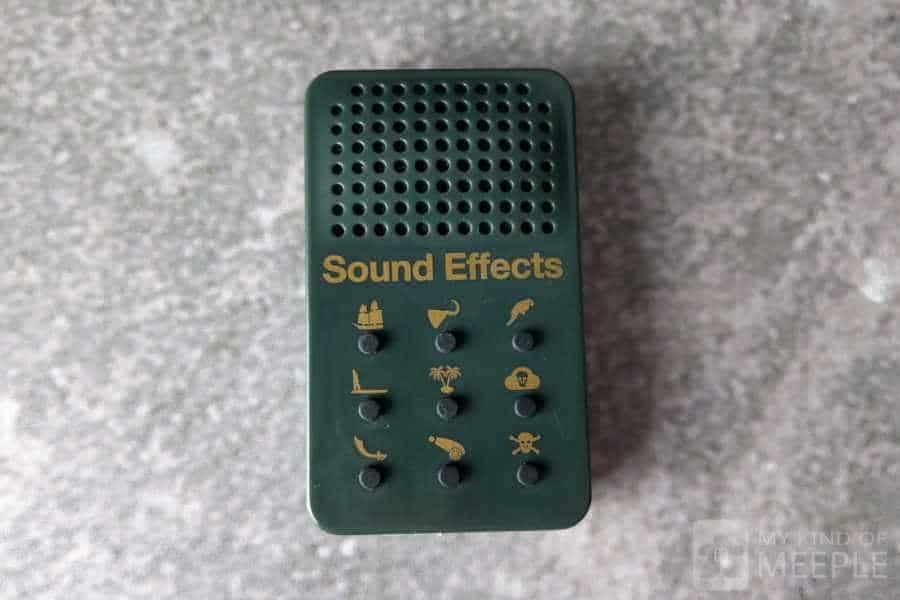 Pirate sound effects board