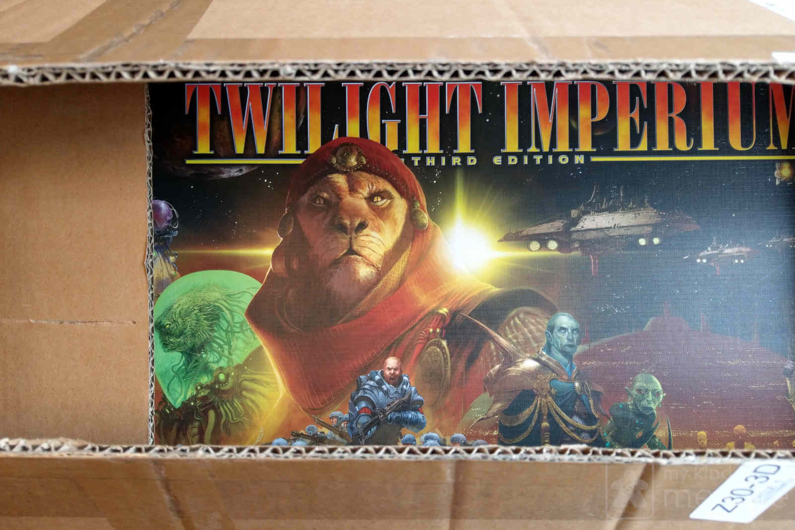 Twilight Imperium mail box