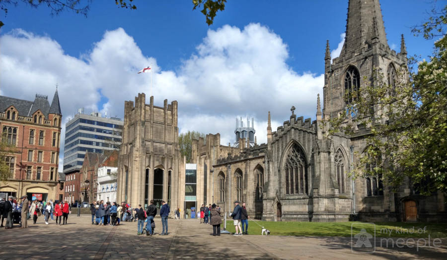 Sheffield Cathedral on Cluedupp day