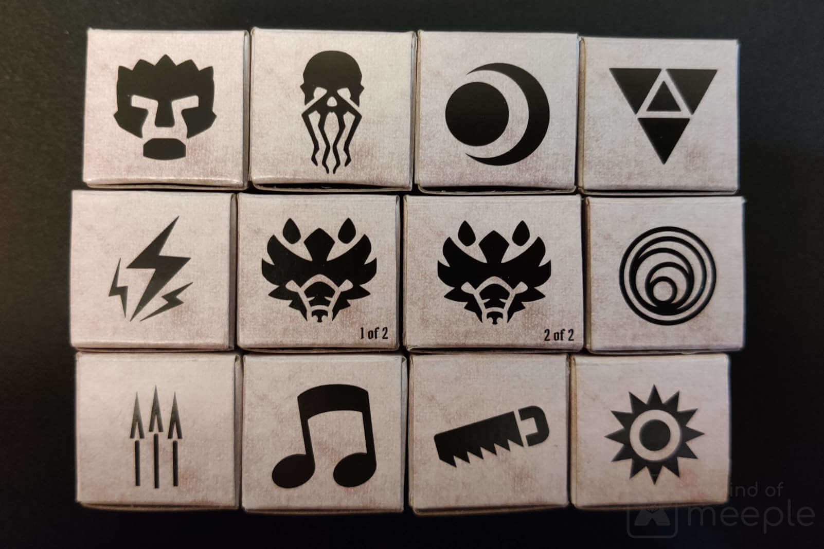 Gloomhaven unlockable locked classes box symbols