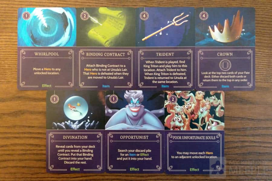 Ursula's important cards to use strategically to win