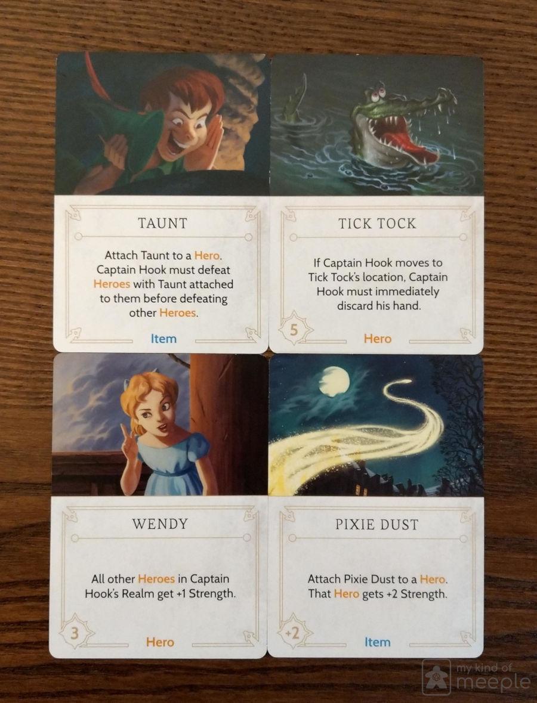 disney villainous captain hook fate cards