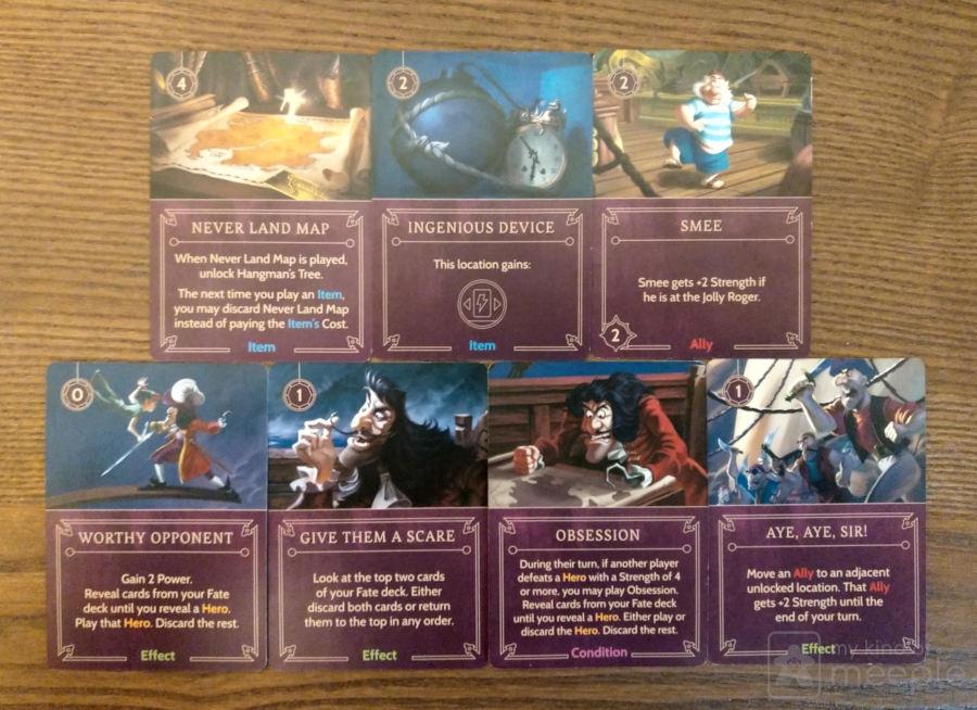 captain hook important villain cards