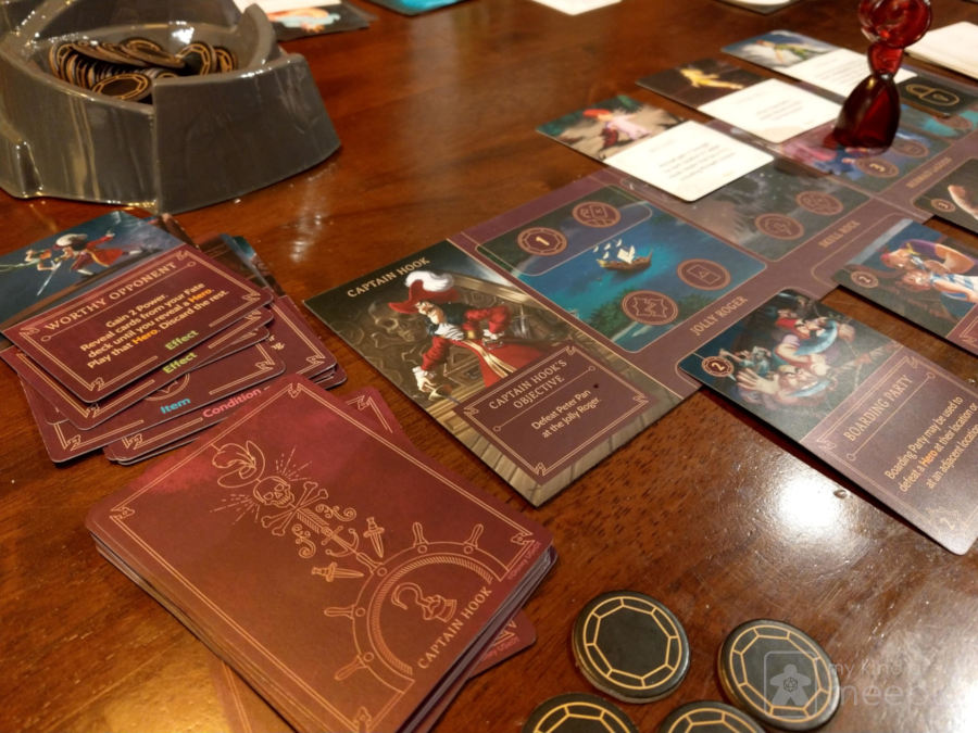 Disney Villainous board game gameplay
