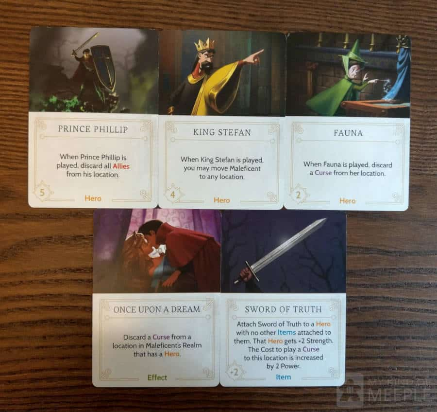 Very useful Maleficent fate cards to use in your strategy to stop Maleficent winning