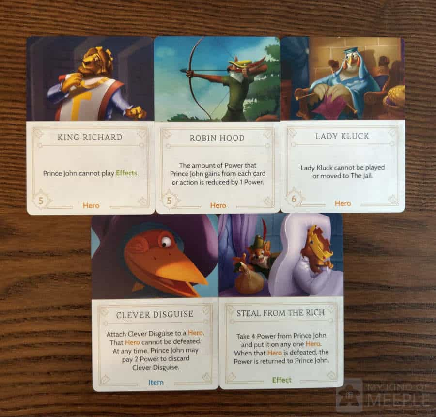Effective fate cards to play against Prince John in Villainous