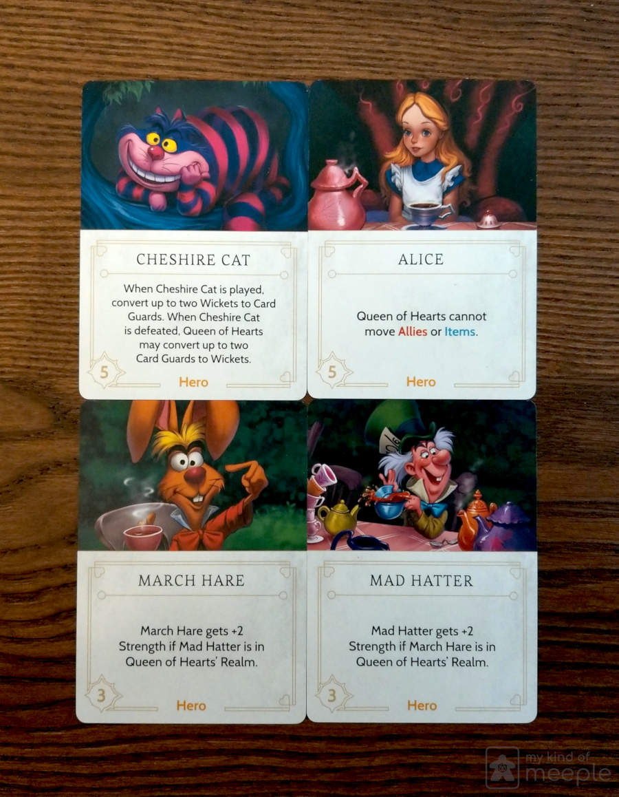 Disney Villainous queen of hearts annoying Fate cards