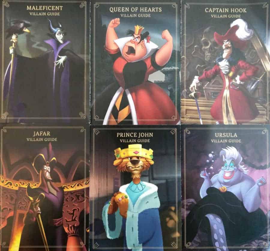 Villainous villain guides