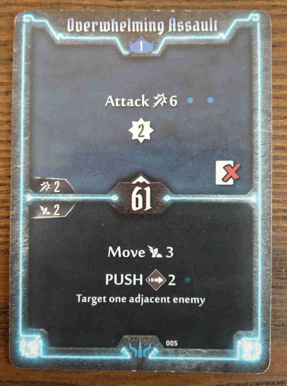 Brute Overwhelming Assault card