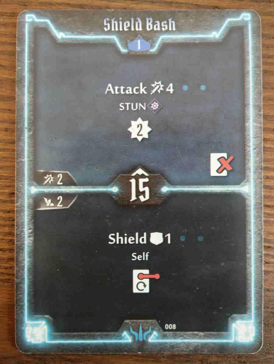 Brute Shield Bash card