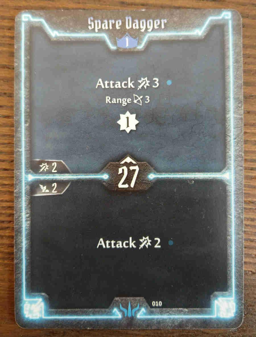 Brute Spare Dagger card
