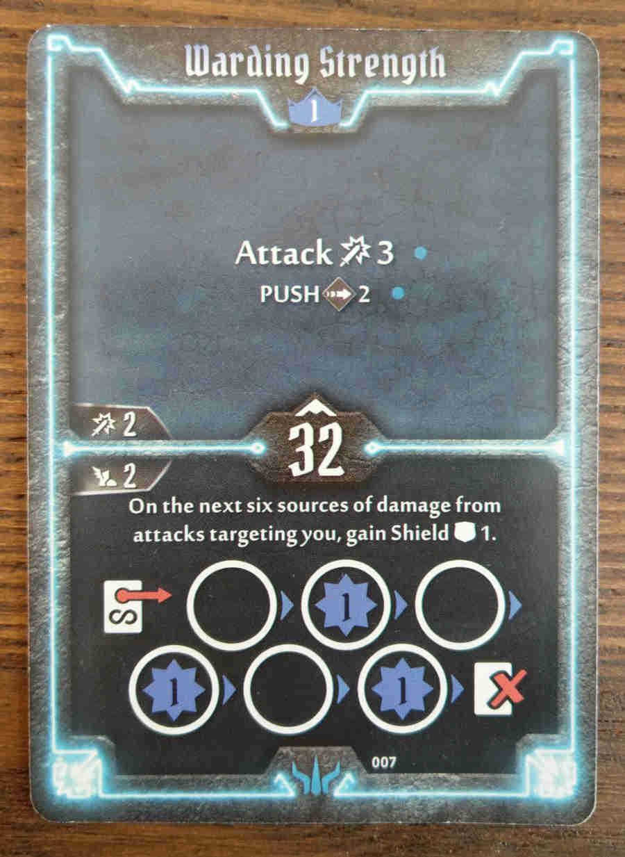 Brute Warding Strength card
