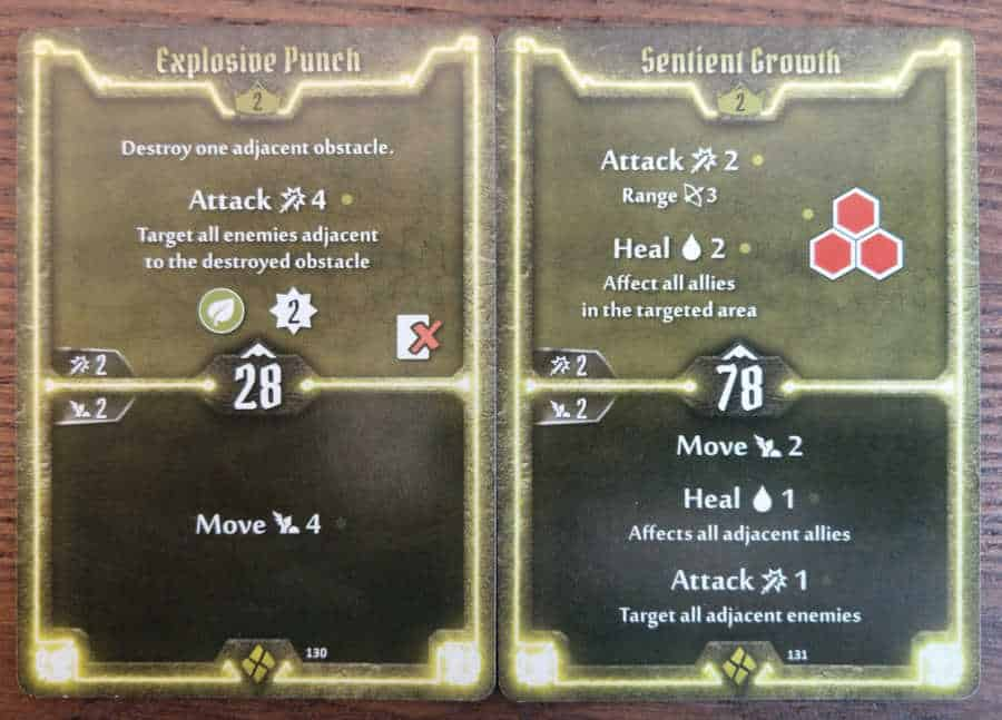 Cragheart Level 2 cards