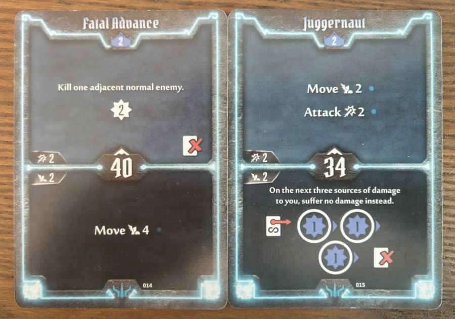 Brute level 2 cards - Fatal Advance, Juggernaut