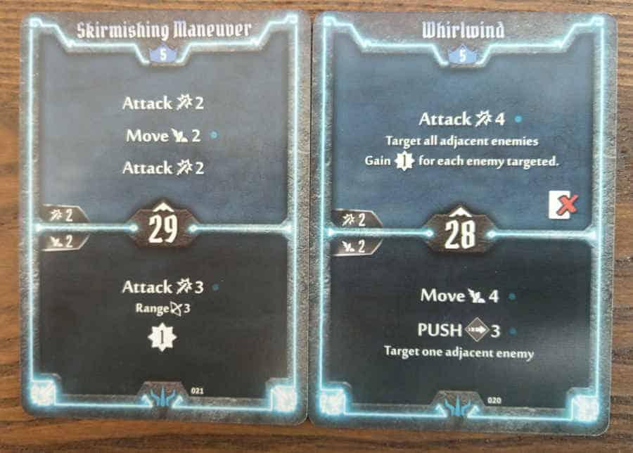 Brute level 5 cars - Skirmishing Maneuver, Whirlwind