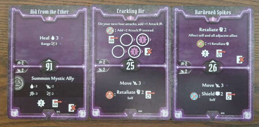 Spellweaver level X cards - Aid from the Ether, Crackling Air, Hardened Spikes