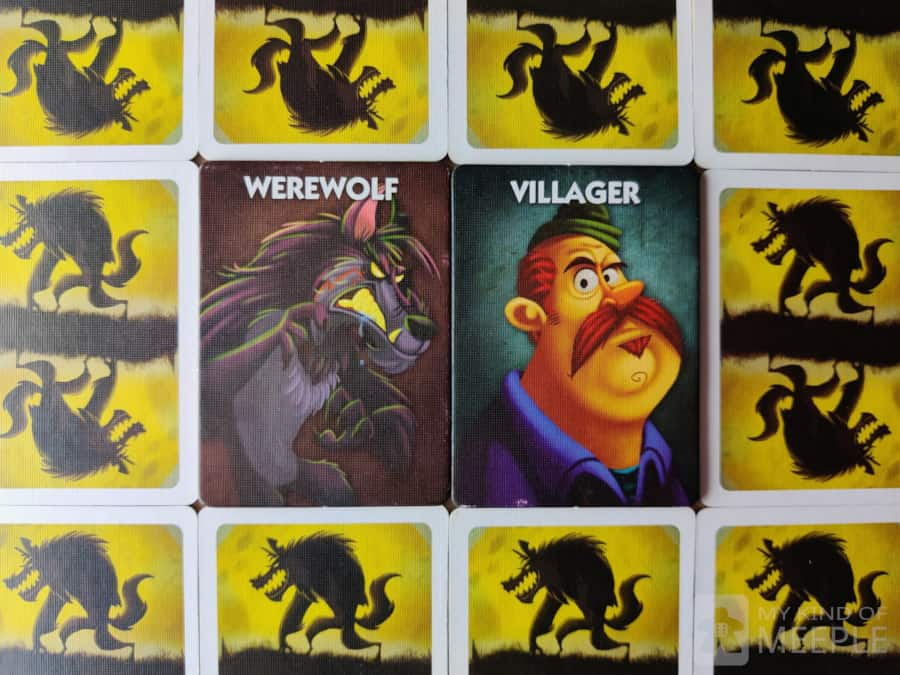 One Night Ultimate Werewolf role tokens