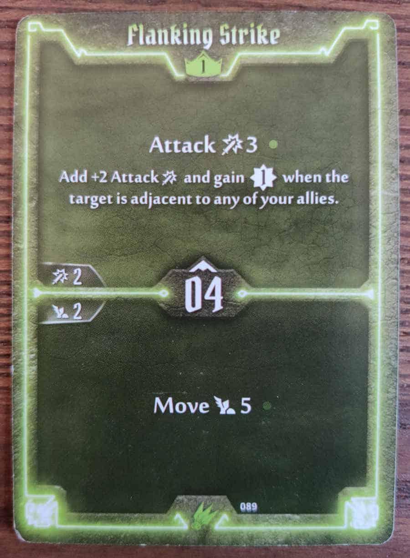 Scoundrel Flanking Strike card