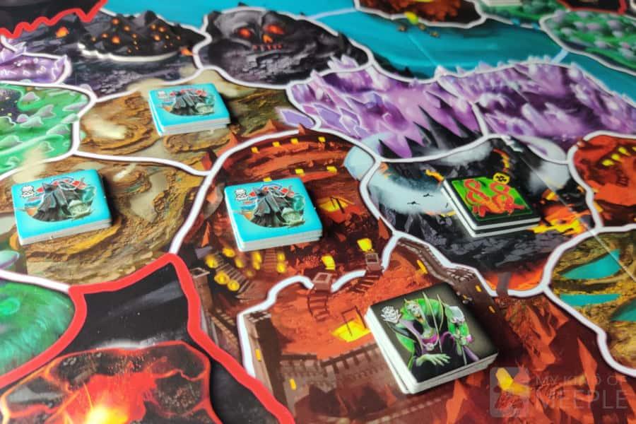Small World: Underground board game