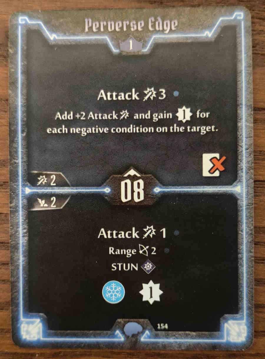 Mindthief level 1 card Perverse Edge