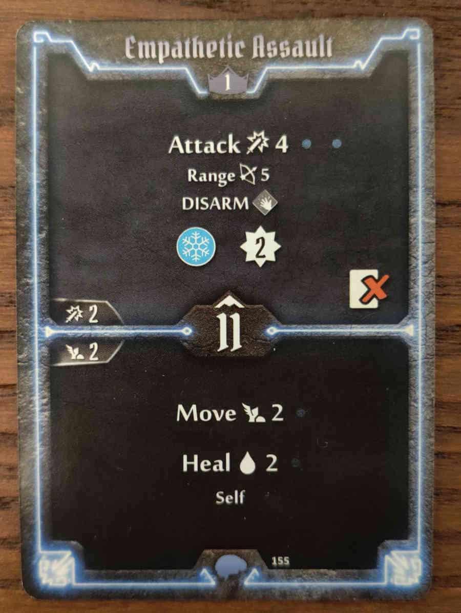 Mindthief level 1 card Empathetic Assault