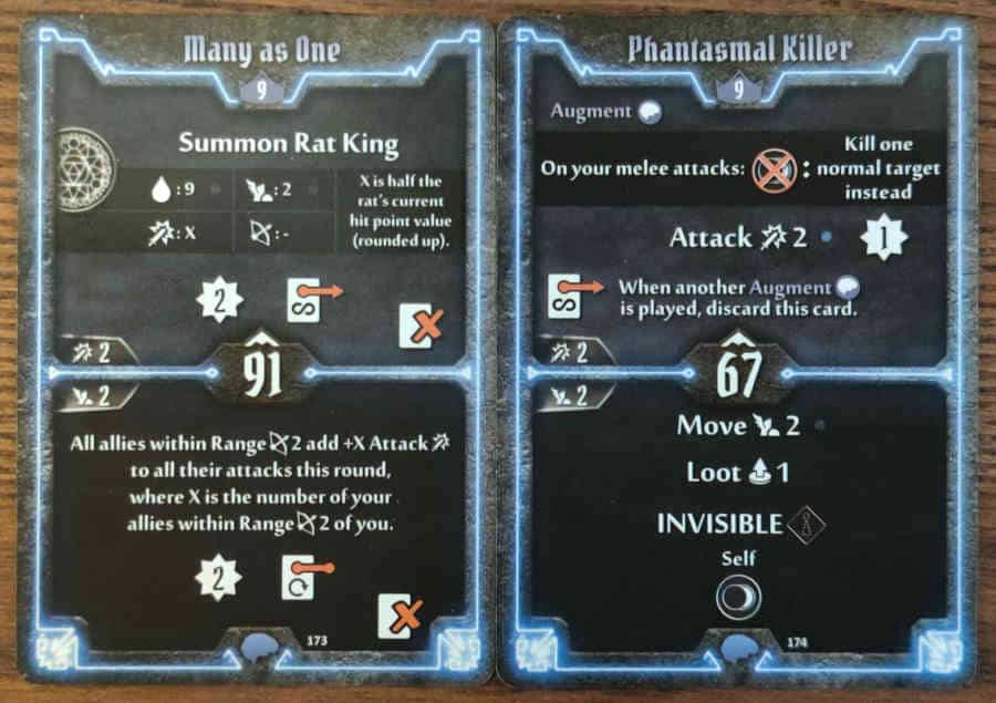 Mindthief level 9 cards Many as One, Phantasmal Killer
