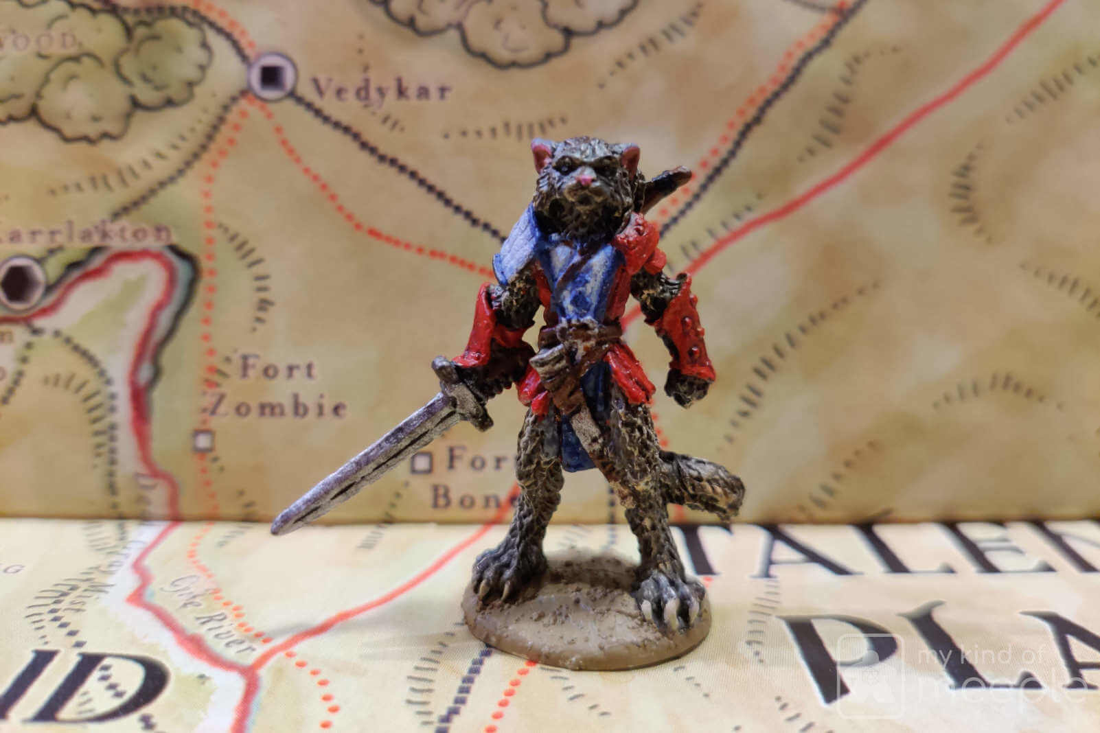 Neutrasl Good alignment tabaxi miniature