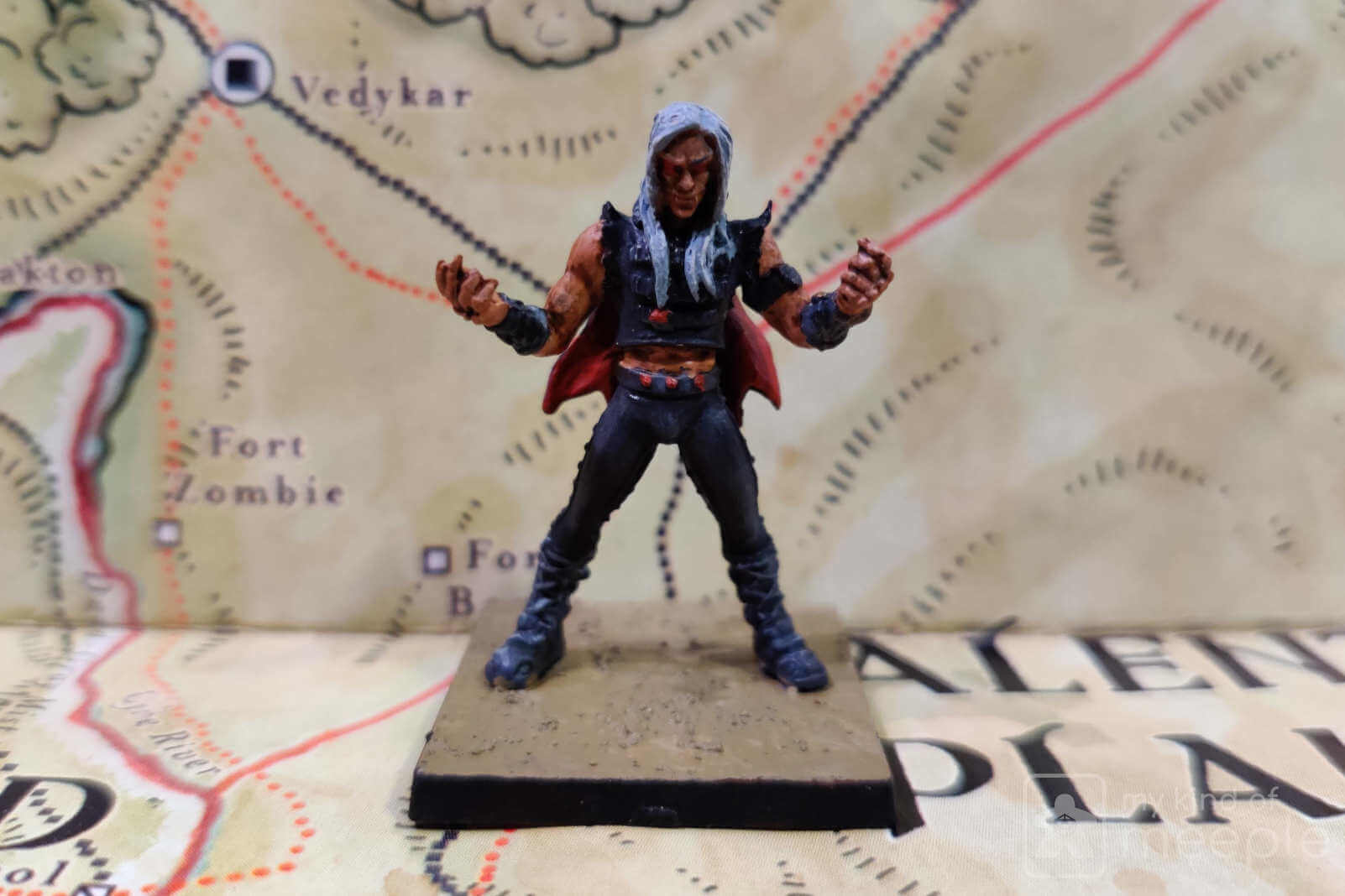 Chaotic Evil alignment miniature