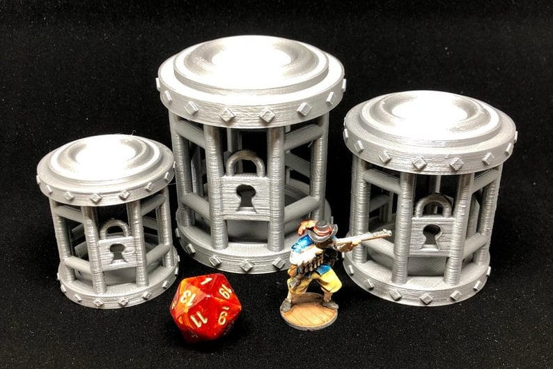 Dice jail. Image credit: Funboardgames on Etsy.