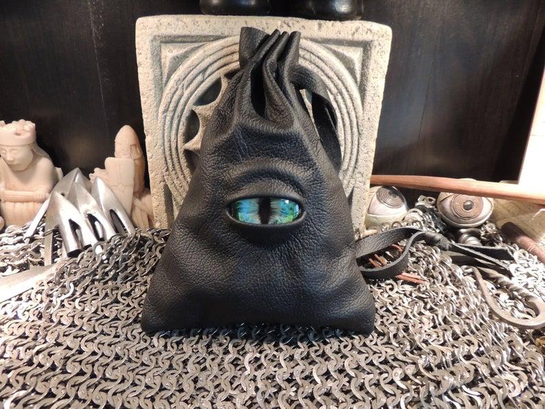 Dragon's eye dice bag. Image credit: Abbots Hollow Studios on Etsy.