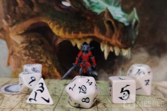 dungeons and dragons dice cover
