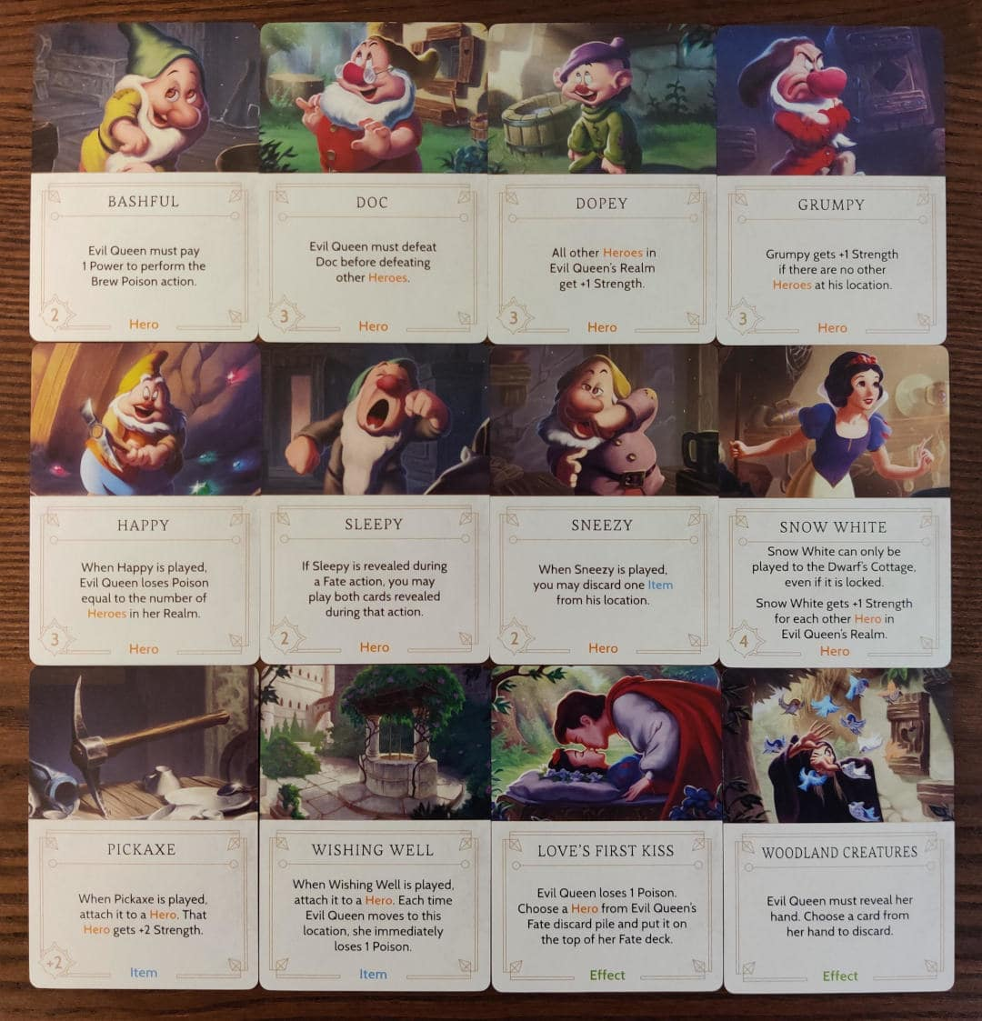 All Evil Queen's Fate cards