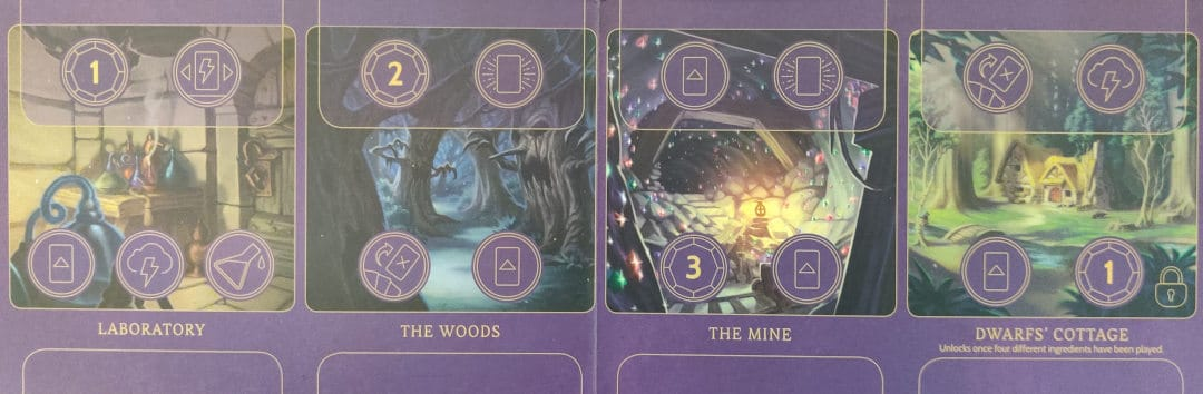 Evil Queen's Realm board in Wicked to the Core