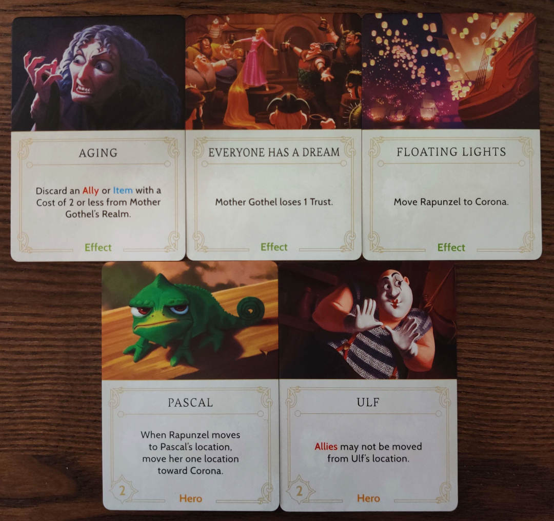 Mother Gothel annoying fate cards