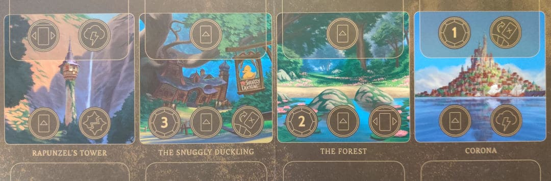 Mother Gothel's Realm board in Disney Villainous