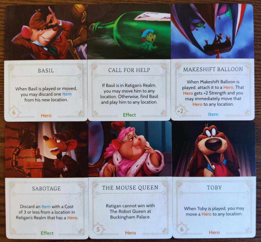 Ratigan Disney Villainous annoying fate cards