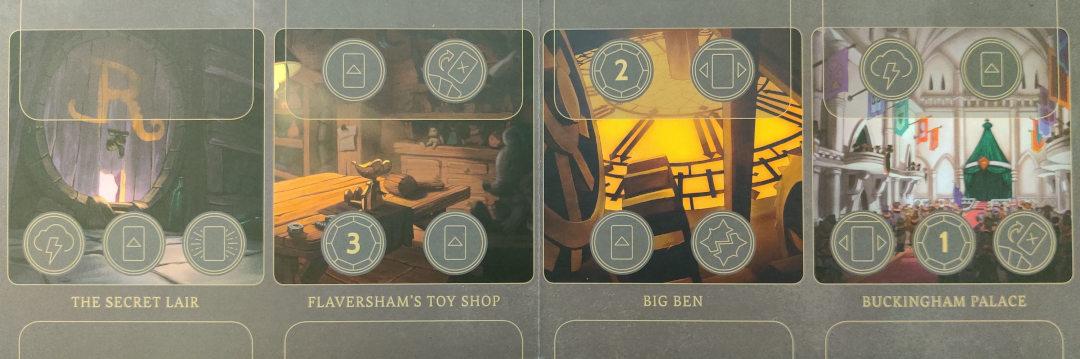 Ratigan Disney Villainous Realm board