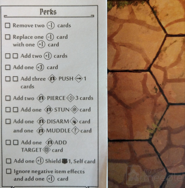 Perks for the Brute in Gloomhaven