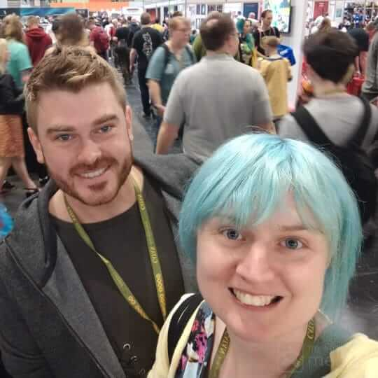 Emily and partner at UKGE