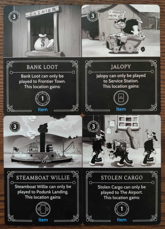 Pete Disney Villainous Item cards