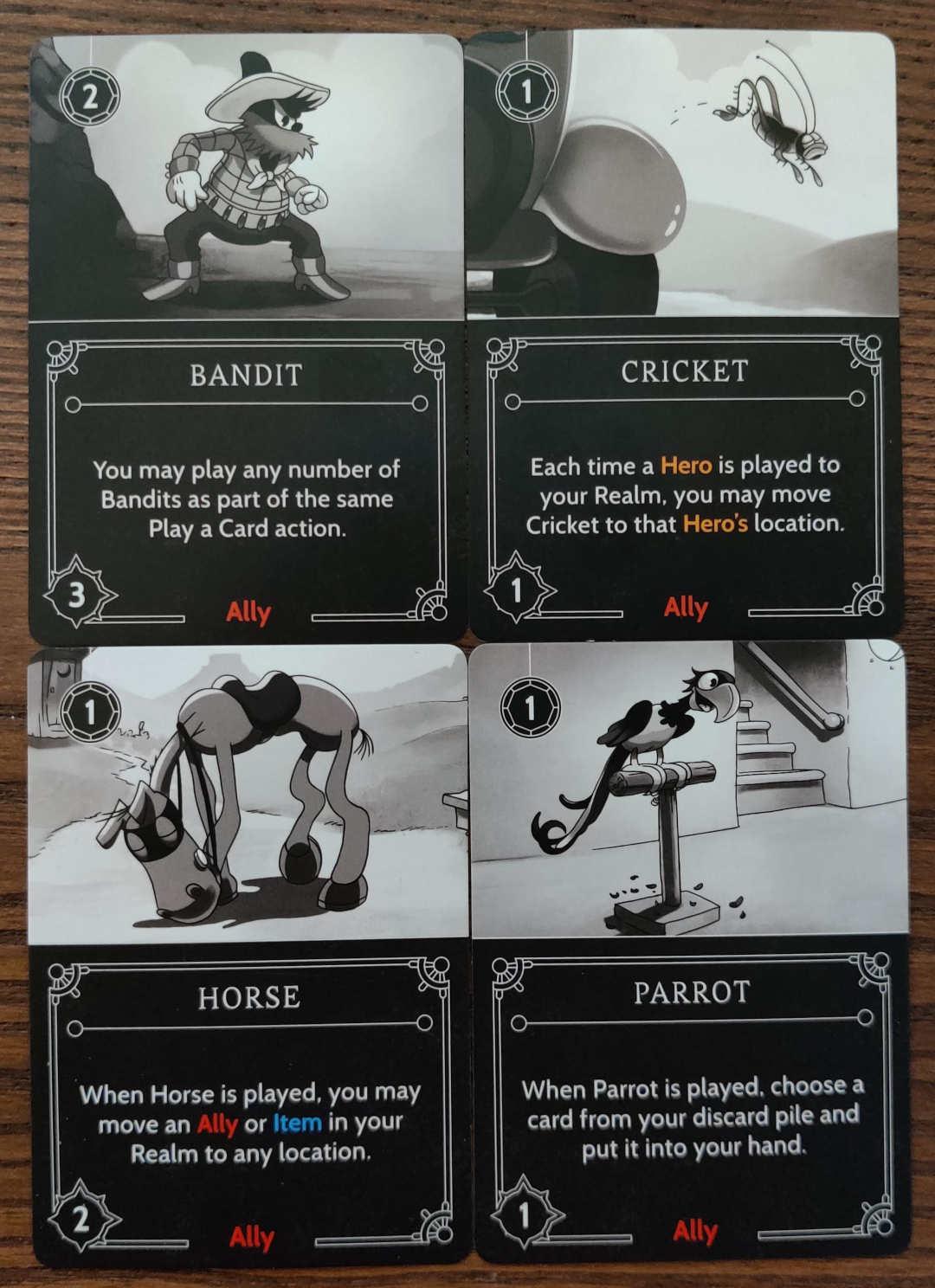 Pete Disney Villainous ally cards