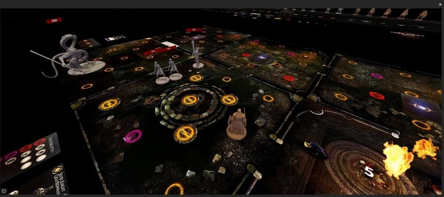 Fan made Dark Souls: The Board Game mod for Tabletop Simulator on Steam