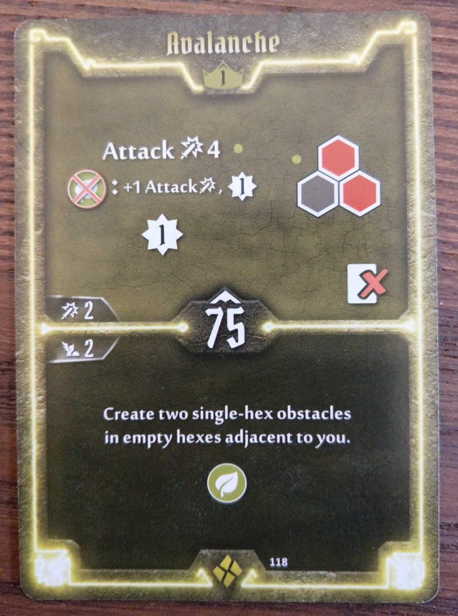 Cragheart Avalanche card