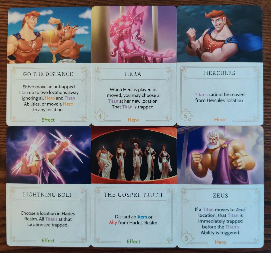 Disney Villainous annoying fate cards hades