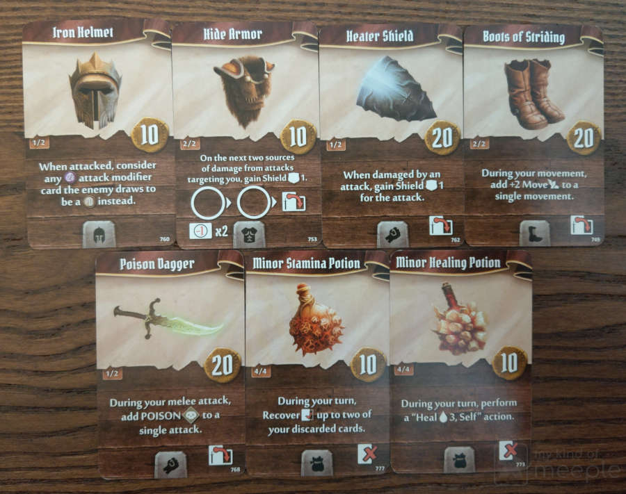 Brute tank starting item cards