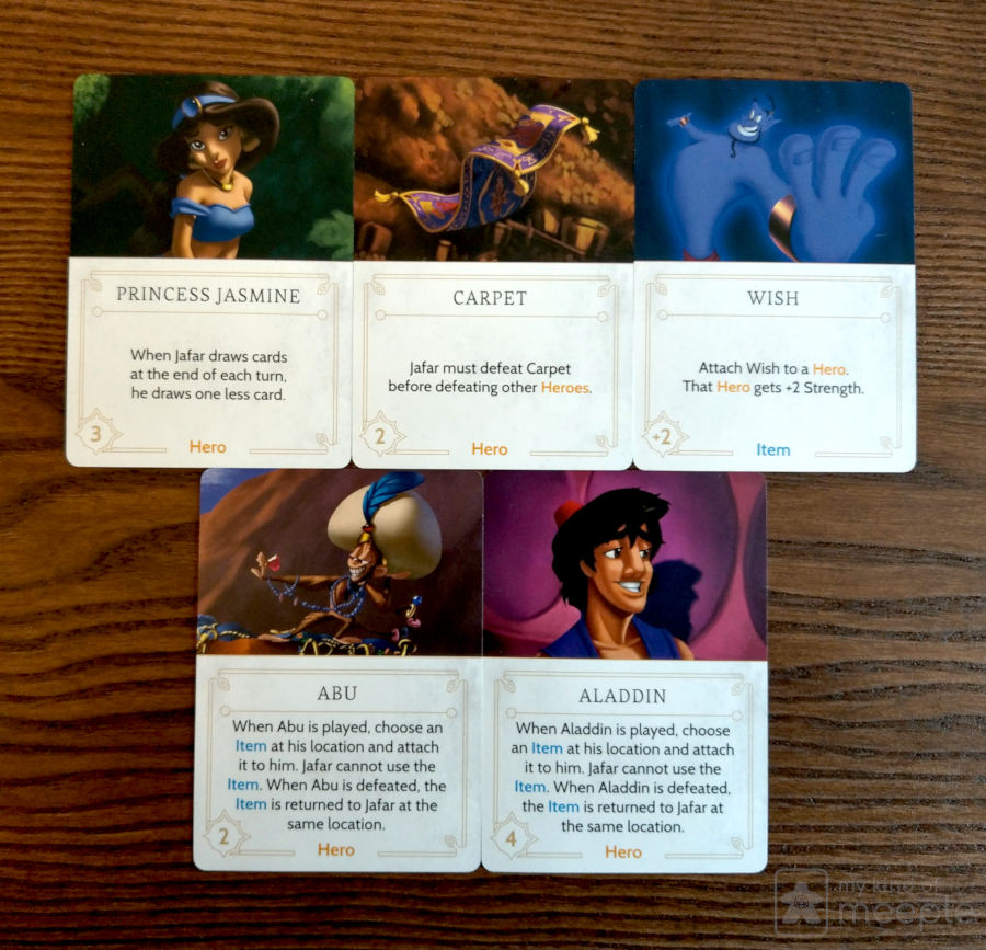 Really useful Fate cards to help you stop Jafar from winning